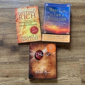 Bundle Law of attraction and money books